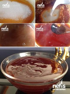 Karamel Sos Tarifi Yummy Recipes, Sauce Recipes, Gourmet Recipes, Dessert Recipes, Yummy Food, Italian Chicken Dishes, How To Make Caramel, Making Caramel, Iftar