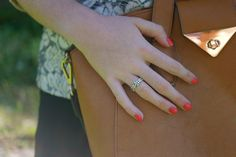 Pandora Ring, Barry M Satsuma, Topshop Bag.