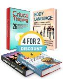 Free Kindle Book -  [Health & Fitness & Dieting][Free] Critical Thinking And Body Language Box Set: 40 Effective Tools to Develop Competence for Critical Thinking and 32 Most Common Body Language Gestures to ... language book, critical thinking skills)