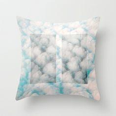 Pause Throw Pillow by Okti - $20.00 Designer Throw Pillows, Pillow Design, Bed Pillows, Pillow Cases, Loft, Pillows, Lofts, Attic Rooms, Mezzanine