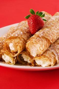 Crepes con crema soffice di banane mi tengo questa ricetta non per le crepes,  ma mi piacerebbe provare la crema......