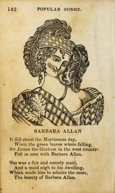 """Barbara Allen"" perf"