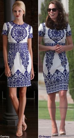 Kate Wears Naeem Khan for Farewell to India & the 2016 Royal Tour. April 2016