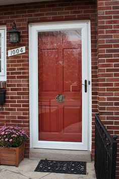 1000 Images About Front Doors On Pinterest Storm Doors