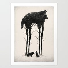 Standing Tall Art Print by Dan Burgess. Worldwide shipping available at Society6.com. Just one of millions of high quality products available.