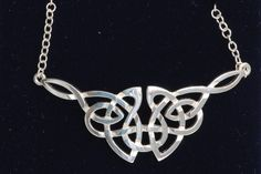 celtic jewelry from scotland   celtic interlaced knot necklace c55 sterling silver celtic jewellery ...