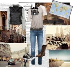"""""""It's a Summer Adventure!"""" by kathyrn-ebony ❤ liked on Polyvore"""