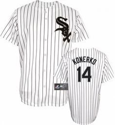 Chicago White Sox Paul Konerko Replica Home Baseball Jersey