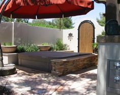 Landscape Hot Tub Design, Pictures, Remodel, Decor and Ideas - page 5