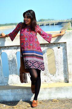 Fashion, Style, Fashion Photography, Street Style, Fashion Blogger, Indian Fashion Blogger, Style Over Coffee, Casual wear, Printed Dress,