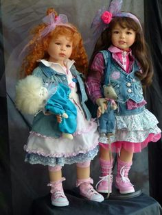 Dolls,so cute!