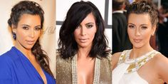 Kim Kardashian's Complete Beauty Evolution  - HarpersBAZAAR.com.  There are alot of beautiful makeup and hair looks