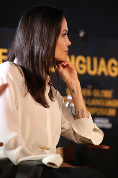 Angelina Jolie Photos Photos - HFPA And American Cinematheque Present The Golden Globe Foreign-Language Nominees Series 2018 Symposium - Zimbio