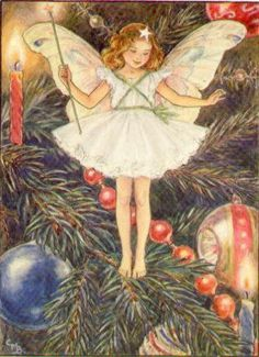 all my life I have been the Christmas tree fairy!