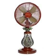 Add a breezy touch to warm afternoons and balmy evenings with this well-crafted fan.Product: Table fanConstruction Ma...