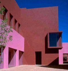 Legorreta + Legorreta - Visual Arts Center, 1998, Santa Fé - EUA