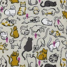 Cotton + Steel - Cat Lady - 2025-1 - Old Country Store Fabrics