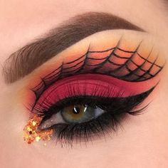 Best Halloween glam makeup looks - halloween eye makeup Eye Makeup Designs, Eye Makeup Art, Eyeshadow Makeup, Makeup Ideas, Makeup Tips, Face Makeup, Makeup Inspo, Makeup Tutorials, Makeup Inspiration