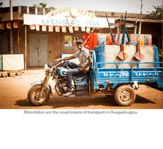 Hamed loads up in Ougadougou People Brand, African Design, Have Some Fun, Gallery, Journey, Roof Rack, The Journey