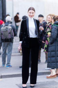 angelica_ardasheva_paris_fashion_week_fall_2014 street Style