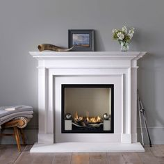 Best Snap Shots White Fireplace insert Popular Remember when I was hemming and h. Best Snap Shots White Fireplace insert Popular Remember when I was hemming and hawing about whether to paint Fireplaces Uk, Fireplace Mantels, Mantles, Fireplace Ideas, White Fireplace, Fireplace Design, Fireplace Suites, Wood Burning Fireplace Inserts, Fire Basket