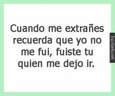 Olvidame...