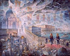 Arrival in Venice by John Stephens, 2010