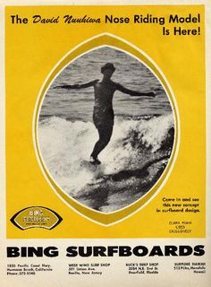 Classic Bing Surfboards: Mid 60′s | Classic Bing Surfboards