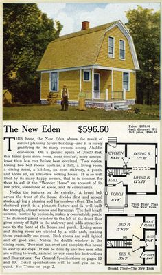 1916 Aladdin Homes - New Eden Dutch Colonial Revival