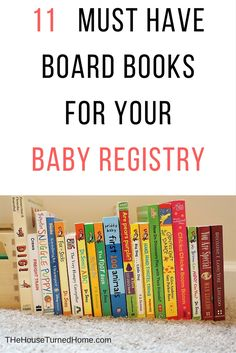 11 Must Have Board Books for Your Baby Registry ⋆ The House Turned Home
