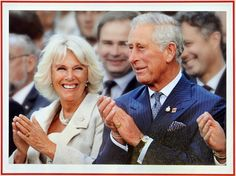 2014 Prince Charles And Camilla Christmas Card. Taken at the Invictus Games which Prince Harry set up