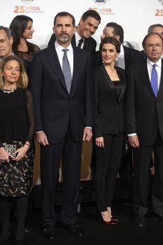 Queen Letizia of Spain: Antena 3 TV Channel 25th Anniversary Party