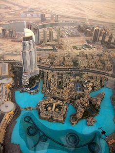 From the Burj Khalifa, Dubai | UAE (by Brazilian Traveller