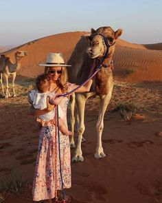 @LaniHockley shared this touching moment of little Indi Mae making a new friend during her sunrise desert visit. Do you remember your first trip to #MyDubais golden sands?  @lanihockley - via MyDubai on #Instagram : Amazing #Travel Destinations - International #Holiday Tips - Dream #Vacations - Exotic Tropical Tourist Spots - Adventure Travel Ideas - Luxury #Hotels and Beautiful Resorts Pictures by Traveling247