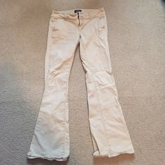 Khakis American Eagle Khakis, loved these but they were too short for me so never got to wear them. American Eagle Outfitters Pants Boot Cut & Flare