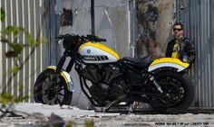 """Préparations Liberty : XV950 Bolt """" Kenny Roberts """" - Liberty Yam - Yamaha Périgueux"""
