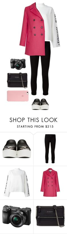 """""""Untitled #358"""" by mpxxi ❤ liked on Polyvore featuring Miu Miu, J Brand, Steve J & Yoni P, Paul & Joe Sister, Sony and Givenchy"""