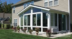 Looking For A Four Season Vinyl Sunroom? Take A Look At This Patio  Enclosures Sunroom