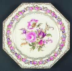 Rosenthal Continental VIENNA Octagonal Luncheon Plate 2314263 in Pottery & Glass, Pottery & China, China & Dinnerware, Rosenthal | eBay