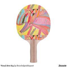Visual Arts 854 Ping Pong Paddle