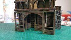 Medieval Stables - 28mm Building - Tabletop - Terrain - Diorama - Wargaming