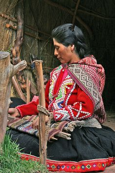 """Beautiful Weaver, Peru"" by abaesel on flickr"