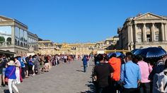 Versailles seems to be popular.