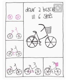 Draw in the cycle.