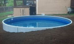 Above ground pools have always been the best and the cheapest option to build swimming pool. Here's the reason why you should invest in above ground pool rather than in-ground ones. We have above ground pool tips and ideas. Round Above Ground Pool, Above Ground Swimming Pools, In Ground Pools, Above Ground Pool Landscaping, Backyard Pool Landscaping, Landscaping Ideas, Piscina Diy, Oberirdischer Pool, Pool Maintenance