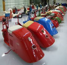 Cushman Motor Scooter Collection