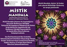 10 Ekim cumartesi günü Kuantum Koçluk Merkezinde Mistik Mandala etkinliğimizi gerçekleştiriyoruz. İlginiz için şimdiden teşekkür ederiz.