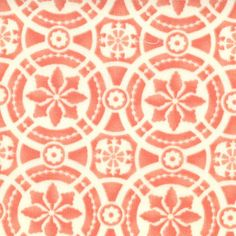 Coral Mosaic Tilework