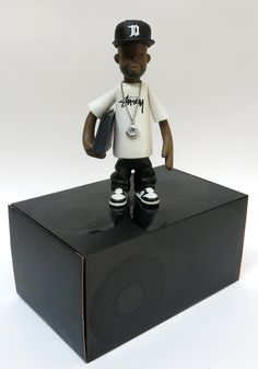 Rappcats » J Dilla figure by Pay Jay