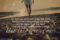 Taylor Swift song quote :)